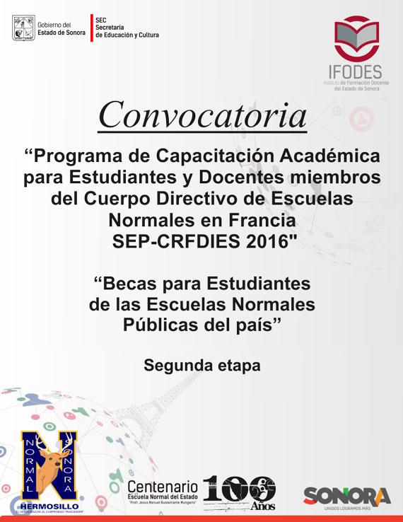 Enesonora inicio eventos ciclo escolar 2015 2016 for Convocatoria docente 2016